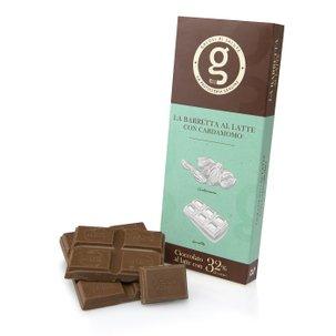 Barretta Cioccolato al Latte Cardamomo  75g