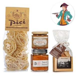 Il kit di Stenterello e le delizie della Toscana