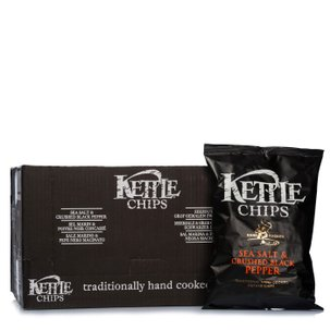 Chips Sale Marino e Pepe Nero 100g 8 pz.