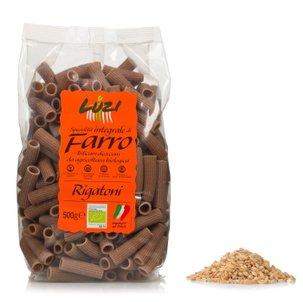 Rigatoni Integrali al Farro Bio 500g