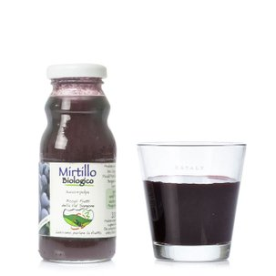 Succo e Polpa di Mirtillo 200ml
