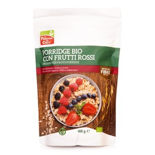 Preparato per Porridge all'Avena con Frutti di Bosco Bio 400g