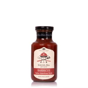 Salsa Barbeque Bio  250ml