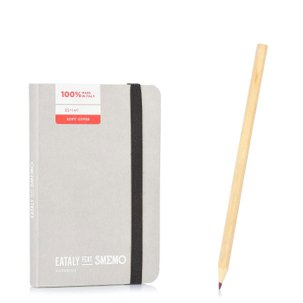 Notebook Pocket Grigio Righe