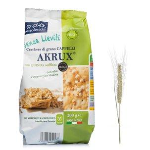 Crackers di Akrux e Quinoa 200g