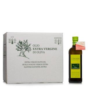 Olio Extravergine di Oliva L'Italiano 1l 12 pz.