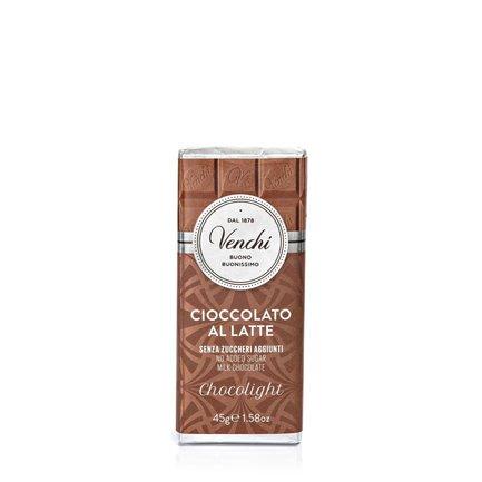 Light Milk Chocolate Bar  45g