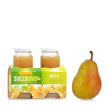 Succomio Pear Juice 2x 200ml