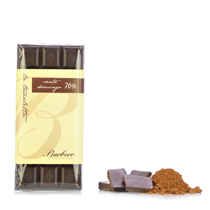 70% cocoa Santo Domingo Chocolate Bar  100gr