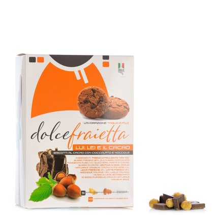 Lui Lei e Il Cacao Biscuits  250g