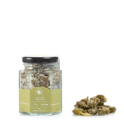 Capers in Sea Salt  90g