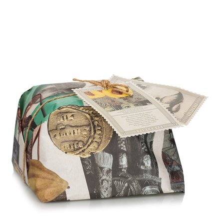 Pupi peach, pistachio and dark chocolate panettone 750g