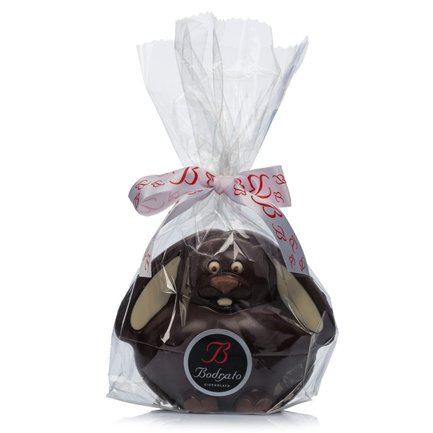 Chubby Dark Chocolate Rabbit 130g