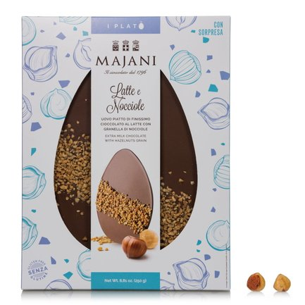 Milk Chocolate and Hazelnut Platò 250g