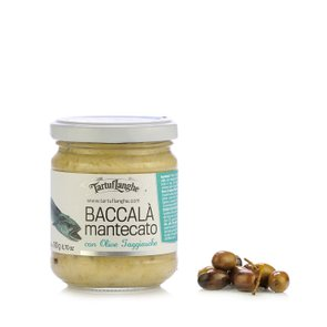 Creamy Cod Fish with Taggiasca Olives 190g