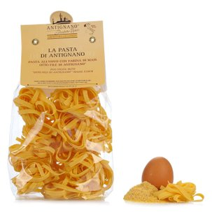 Tagliatelle made with Eggs with Mais OttoFile Flour  250gr