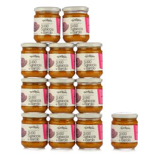 Sausage and Barolo Wine Sauce 180g 12 pcs.