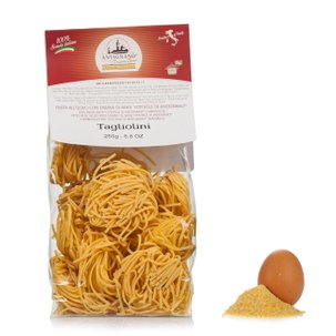 Fettuccine made with Eggs with Mais OttoFile Flour 250g