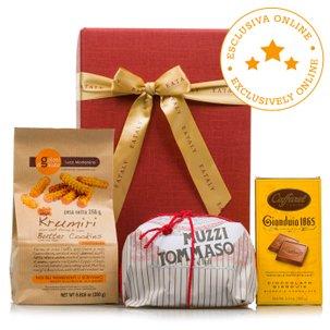 Christmas sweet and chocolate box