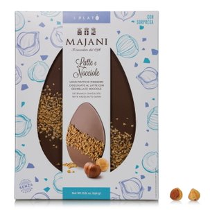 Milk Chocolate and Hazelnut Platò 250g