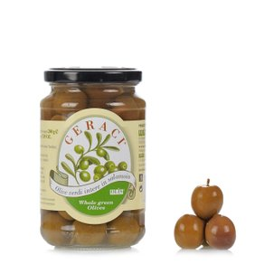 Whole Green Olives in Brine 200g