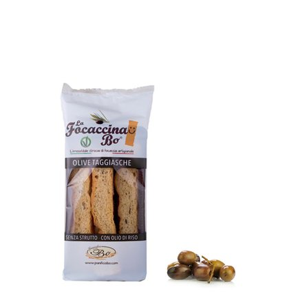 Focaccina Olive Taggiasca 100g