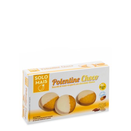 Polentine Choco al cioccolato bianco 115g