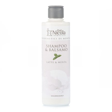 Shampoo Latte e Menta  250ml