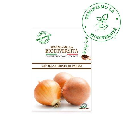 Semi Bio di Cipolla Dorata di Parma  2g