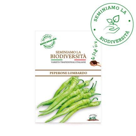 Semi Bio Peperone Lombardo 0,5g