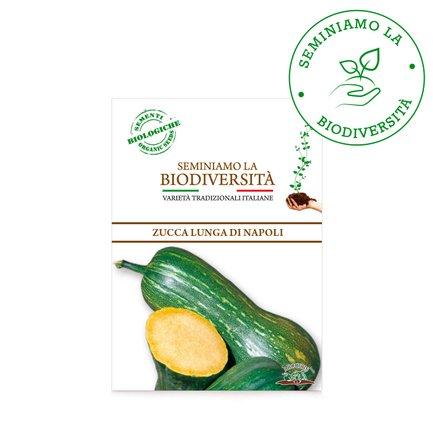 Semi Bio Zucca Lunga Napoli r 3g
