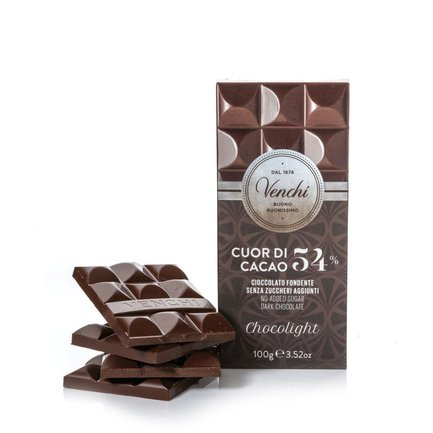 Tavoletta Chocolight Fondente 54%  100gr