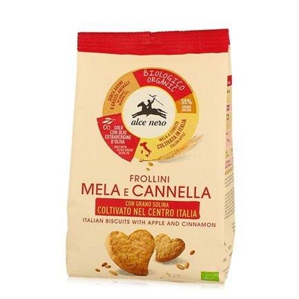 Frollino Mela e Cannella Bio  250g