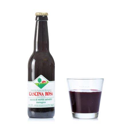 Succo di Mirtillo Senza Zuccheri Aggiunti 330 ml