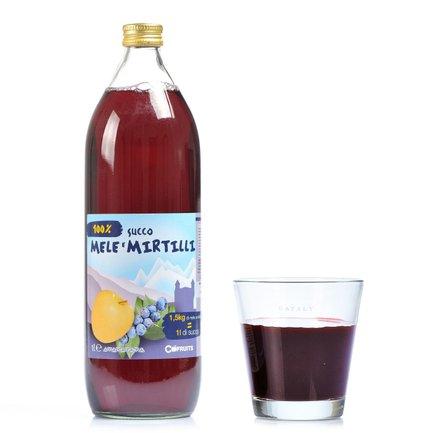 Succo di Mela e Mirtillo 1l