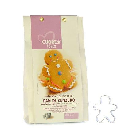 Miscela per Biscotti Pan di Zenzero 230g