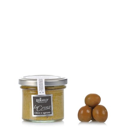 Crema Di Olive Verdi agli Agrumi  100gr