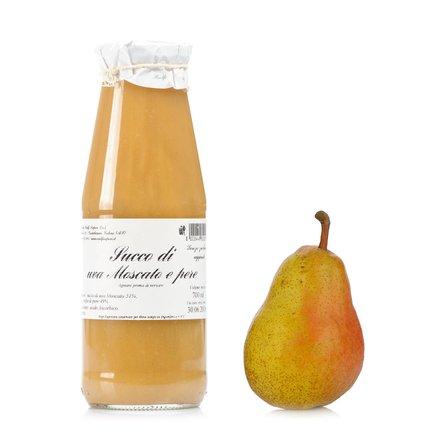 Succo di Uva Moscato e Pere 700 ml