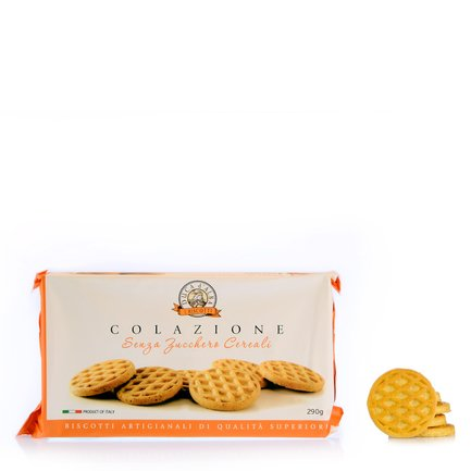 Biscotti Colazione Cereali Senza Zuccheri Aggiunti 240g