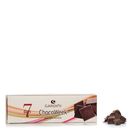 Chocoweek 7 Days Extra Dark Chocolate 100g