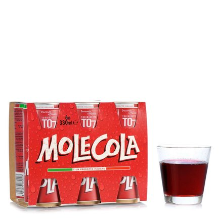 Molecola 6x 6 x 0,33l