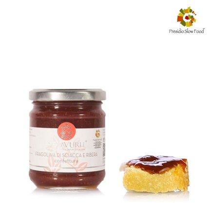 Confettura di Fragoline di Sciacca e Ribera 230 g