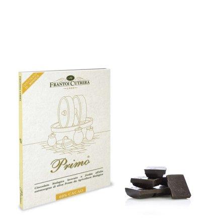 Cioccolato di Modica 60% con olio  50g