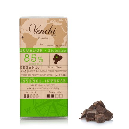Tavoletta Ecuador 85% Bio  70g