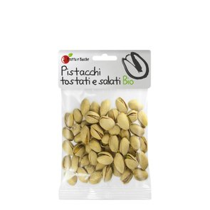 Pistacchi Bio Tostati e Salati 75g