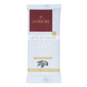 Tavoletta di Cioccolato Fondente 56% con Latte di Cocco  75g