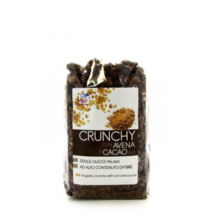 Crunchy Avena e Cacao Bio 375g