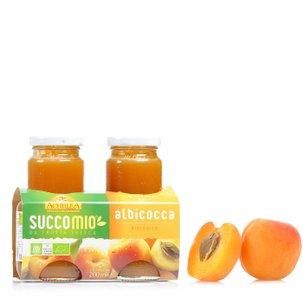 Succomio Albicocca 2x200 ml
