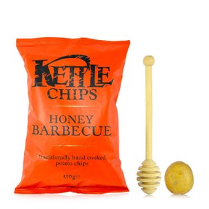 Chips al Barbecue e Miele 150g