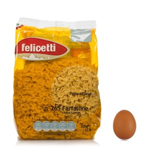 Farfalline all'uovo  500g